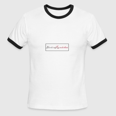 Boxed signature - Men's Ringer T-Shirt