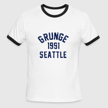 grunge seattle - Men's Ringer T-Shirt