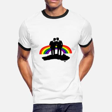Homosexual Love homosexual - Men's Ringer T-Shirt