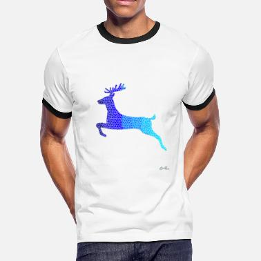 Wildlife Conservation Wildlife-Reindeer - Men's Ringer T-Shirt