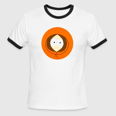 kenny's face - Men's Ringer T-Shirt
