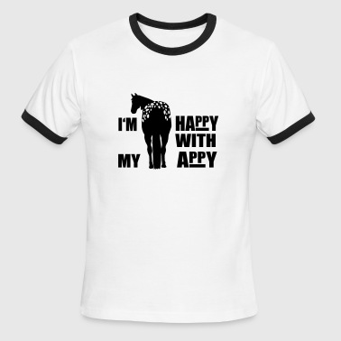 Happy Appaloosa - Men's Ringer T-Shirt