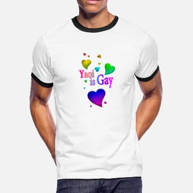 Yowie Yaoi is Gay - Men's Ringer T-Shirt