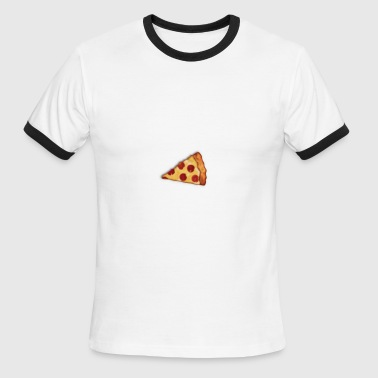 Keep Calm and Eat Pizza - Men's Ringer T-Shirt