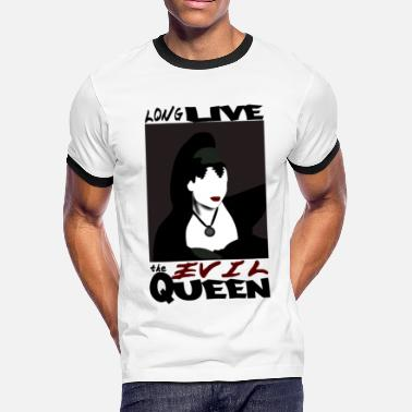 Evil Queen Quotes Long Live The Evil Queen Ringer T-Shirt - Men's Ringer T-Shirt