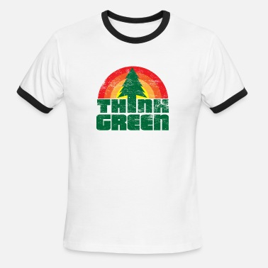 Better Think Green - Men's Ringer T-Shirt