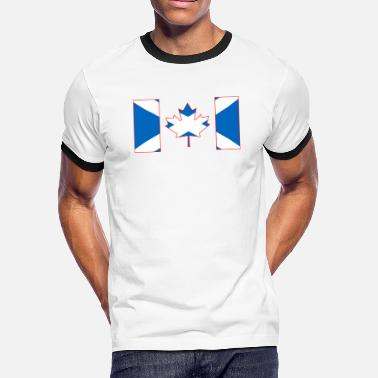 Scotland Canada Flag - Scotland - Men's Ringer T-Shirt