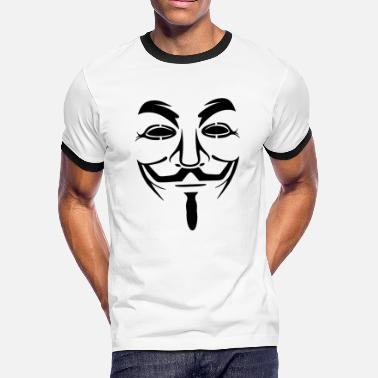 Joker anonymus - Men's Ringer T-Shirt