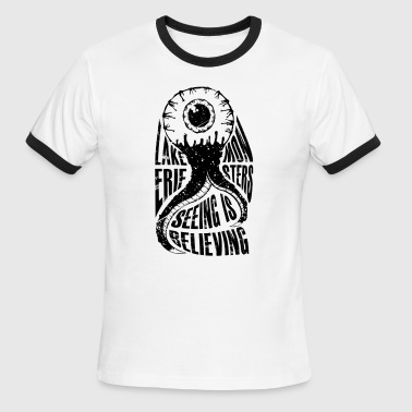 Lake Erie Monsters - Seeing Is Believing - Men's Ringer T-Shirt