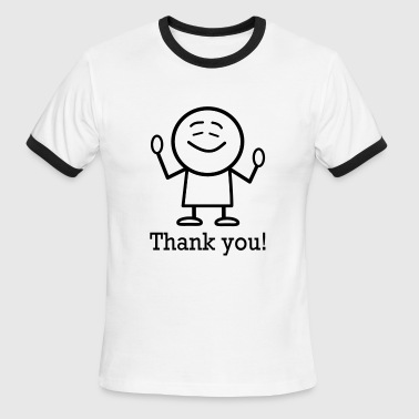 Thank You thank you - Men's Ringer T-Shirt