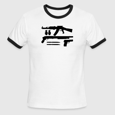 Weapons - Men's Ringer T-Shirt