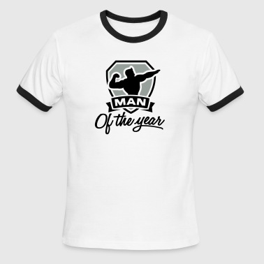 Man Of The Year Man of the year 2 clr - Men's Ringer T-Shirt