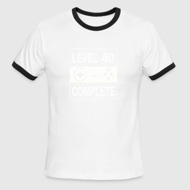 Level 40 Complete - Men's Ringer T-Shirt