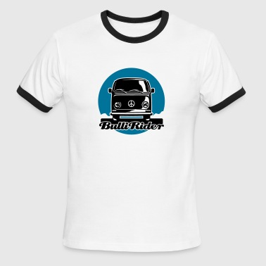 T2 Bus - Bullirider - Men's Ringer T-Shirt