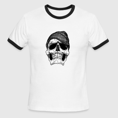 Sled-heads skeleton - Men's Ringer T-Shirt