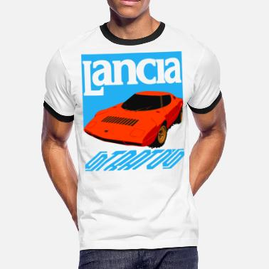 037 Rally stratos  - Men's Ringer T-Shirt