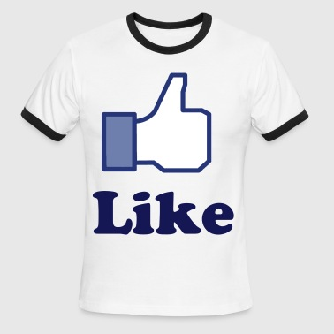 LIKE - Men's Ringer T-Shirt