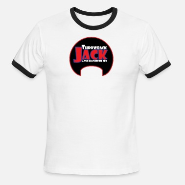 Marius Throwback Jack & the Allpurpose Fro - Men's Ringer T-Shirt
