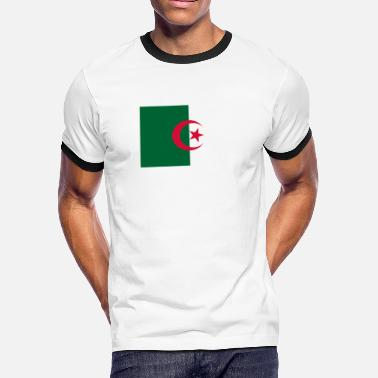 Algeria National Flag National Flag of Algeria - Men's Ringer T-Shirt