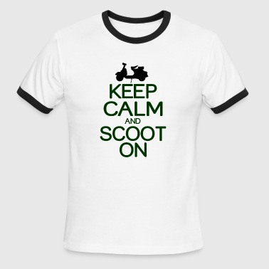 Keep calm and scoot on - Men's Ringer T-Shirt
