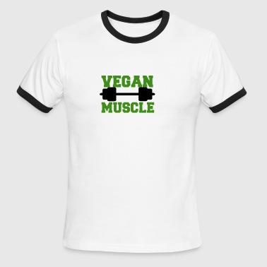 Cool Vegan Vegan muscle - Men's Ringer T-Shirt