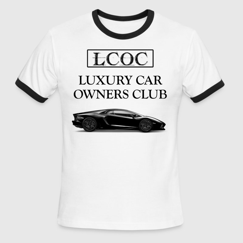 Luxury Car Owners Club .1 - Men's Ringer T-Shirt