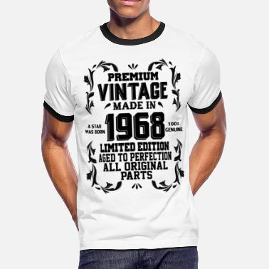 Premium Vintage Made In 1968 A Star Was Born Premium Vintage 1968 - Men's Ringer T-Shirt