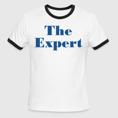 Barron Trump The Expert T shirt - Men's Ringer T-Shirt