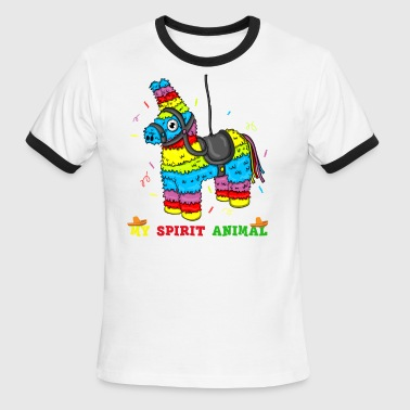 Cinco De Mayo Birthday - Men's Ringer T-Shirt