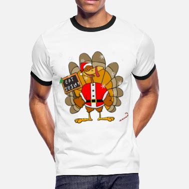 Christmas Turkey Christmas Turkey - Men's Ringer T-Shirt