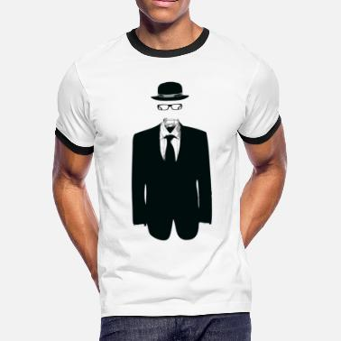 Invisible invisible man designer graphic - Men's Ringer T-Shirt