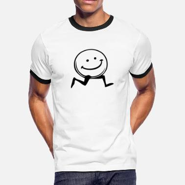 Smiley Jokes smiley - Men's Ringer T-Shirt