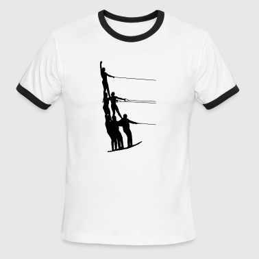 Water Ski Water Sports - Men's Ringer T-Shirt