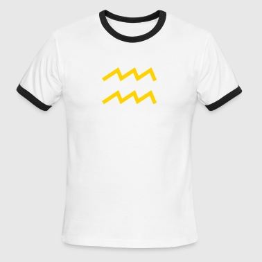 Aquarius - Men's Ringer T-Shirt