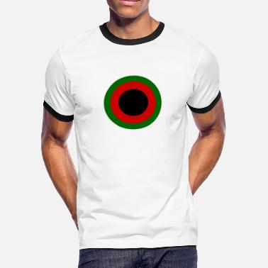 Afghanistan Air Force 1937-47, Afghan Air Force Roundel - Men's Ringer T-Shirt