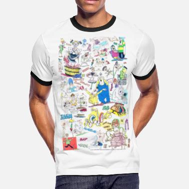 Don Martin Cartoon everything - Men's Ringer T-Shirt