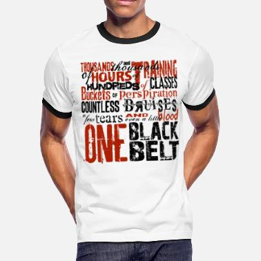 Implexity One Black Belt - Men's Ringer T-Shirt