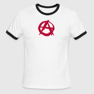 Anarchy anarchist punk - Men's Ringer T-Shirt