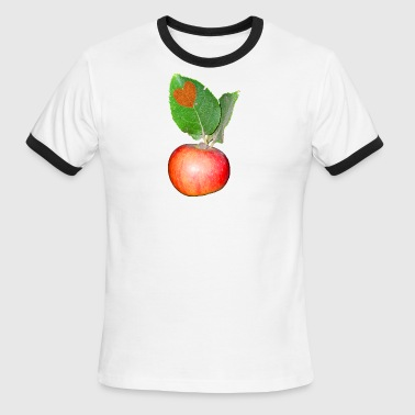 An Apple - Men's Ringer T-Shirt