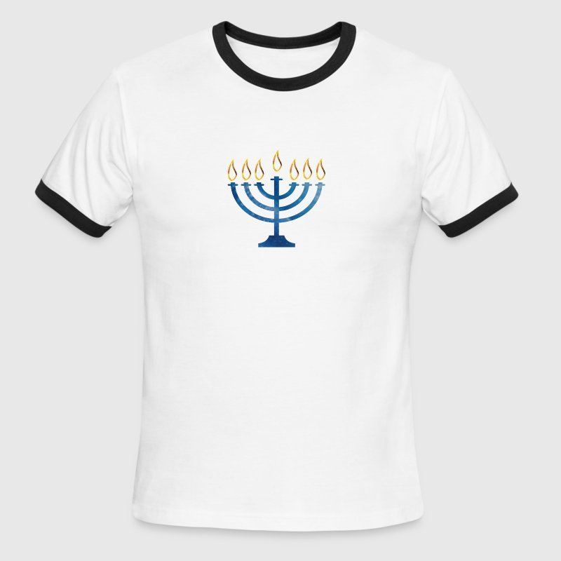 MENORAH - Men's Ringer T-Shirt