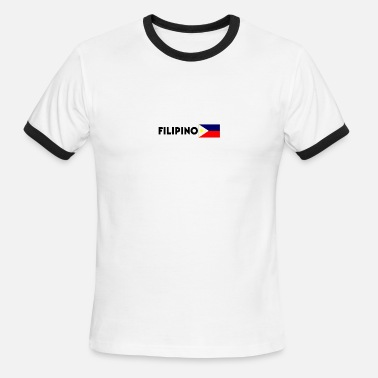 Filipino Design Filipino - Men's Ringer T-Shirt