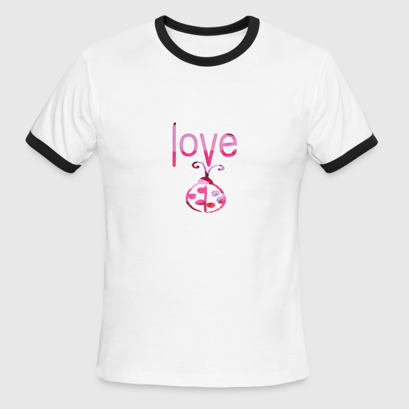 LOVE BUG - Men's Ringer T-Shirt