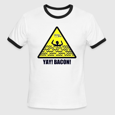 YAY Bacon! - Men's Ringer T-Shirt