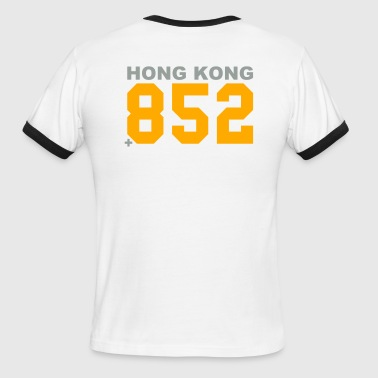 Hong Kong calling (+852) - Men's Ringer T-Shirt