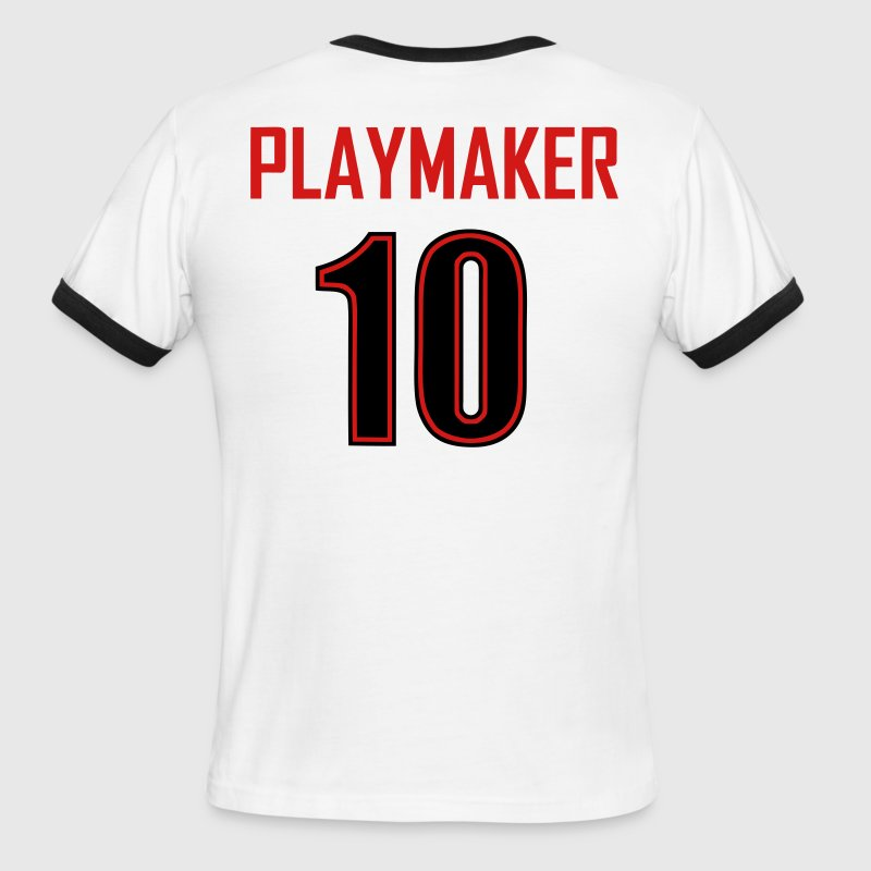 playmaker t-shirt - Men's Ringer T-Shirt