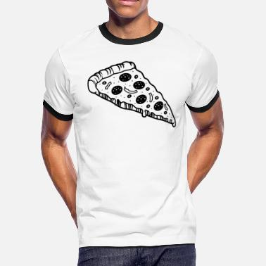 Pizza Hawaiian Pizza - Men's Ringer T-Shirt