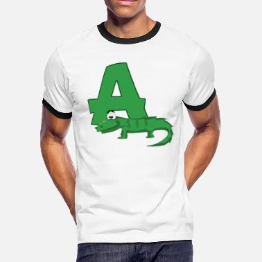 Love Alligator A Is For Alligator - Men's Ringer T-Shirt