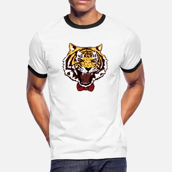 008417223e86 Yuri On Ice- Tiger Shirt Print Men's Ringer T-Shirt | Spreadshirt