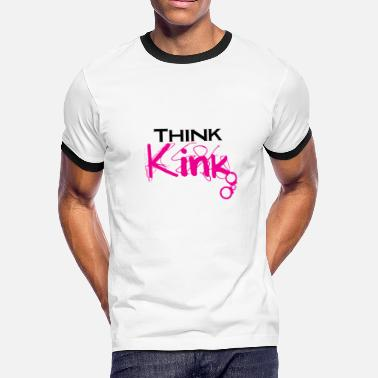 Kinks Think Kink - Men's Ringer T-Shirt