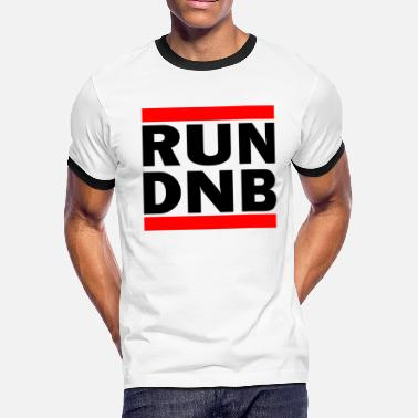 Dnb DnB Drum and Bass Shirt Rave DJ Electronic Music - Men's Ringer T-Shirt